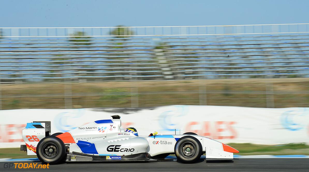 Dillmann snelste in Barcelona, Visser op P8