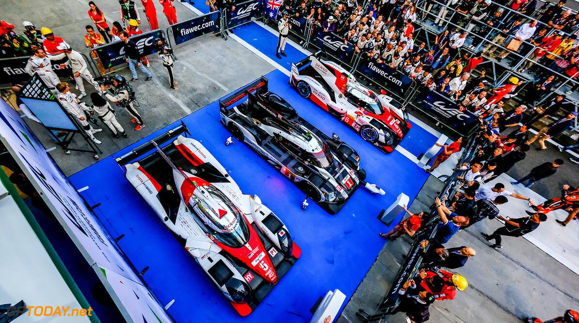 Audi neemt afscheid van WEC met zege, Porsche pakt titel bij constructeurs