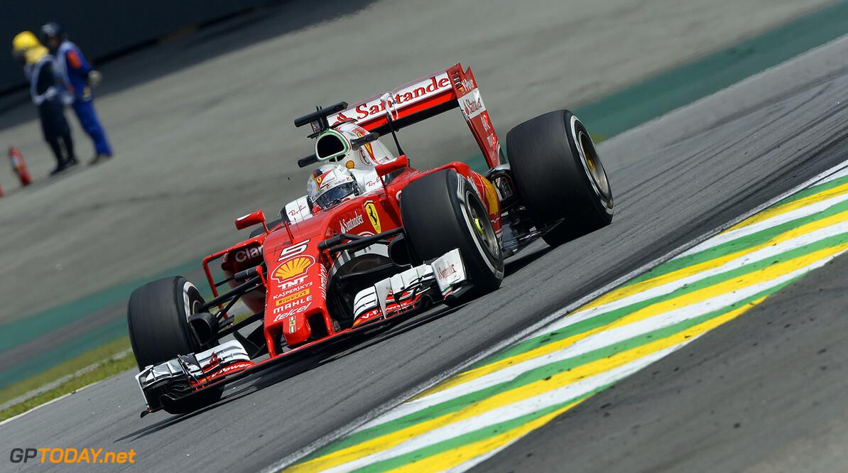 Sebastian Vettel not happy with Max Verstappen in Brazil