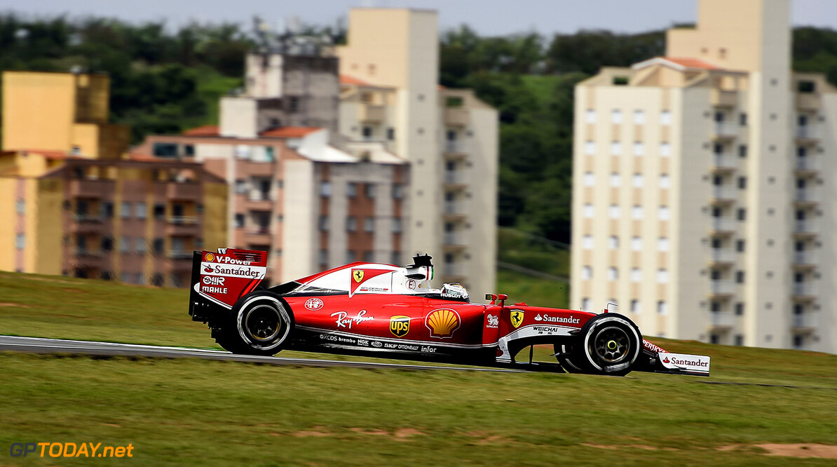 GP BRASILE F1/2016  GP BRASILE F1/2016  (C) FOTO STUDIO COLOMBO PER FERRARI MEDIA ((C) COPYRIGHT FREE) GP BRASILE F1/2016  (C) FOTO STUDIO COLOMBO INTERLAGOS BRASILE