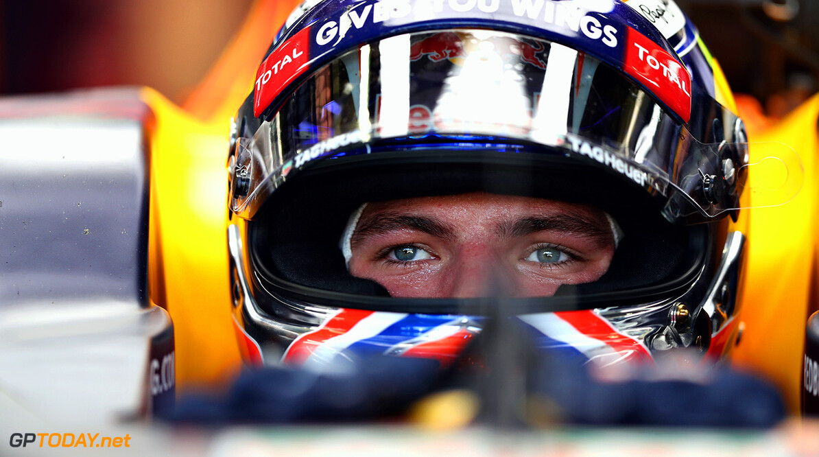 SAO PAULO, BRAZIL - NOVEMBER 11:  Max Verstappen of Netherlands and Red Bull Racing sits in his car in the garage during practice for the Formula One Grand Prix of Brazil at Autodromo Jose Carlos Pace on November 11, 2016 in Sao Paulo, Brazil.  (Photo by Mark Thompson/Getty Images) // Getty Images / Red Bull Content Pool  // P-20161111-00956 // Usage for editorial use only // Please go to www.redbullcontentpool.com for further information. //  F1 Grand Prix of Brazil - Practice Mark Thompson Sao Paulo Brazil  P-20161111-00956