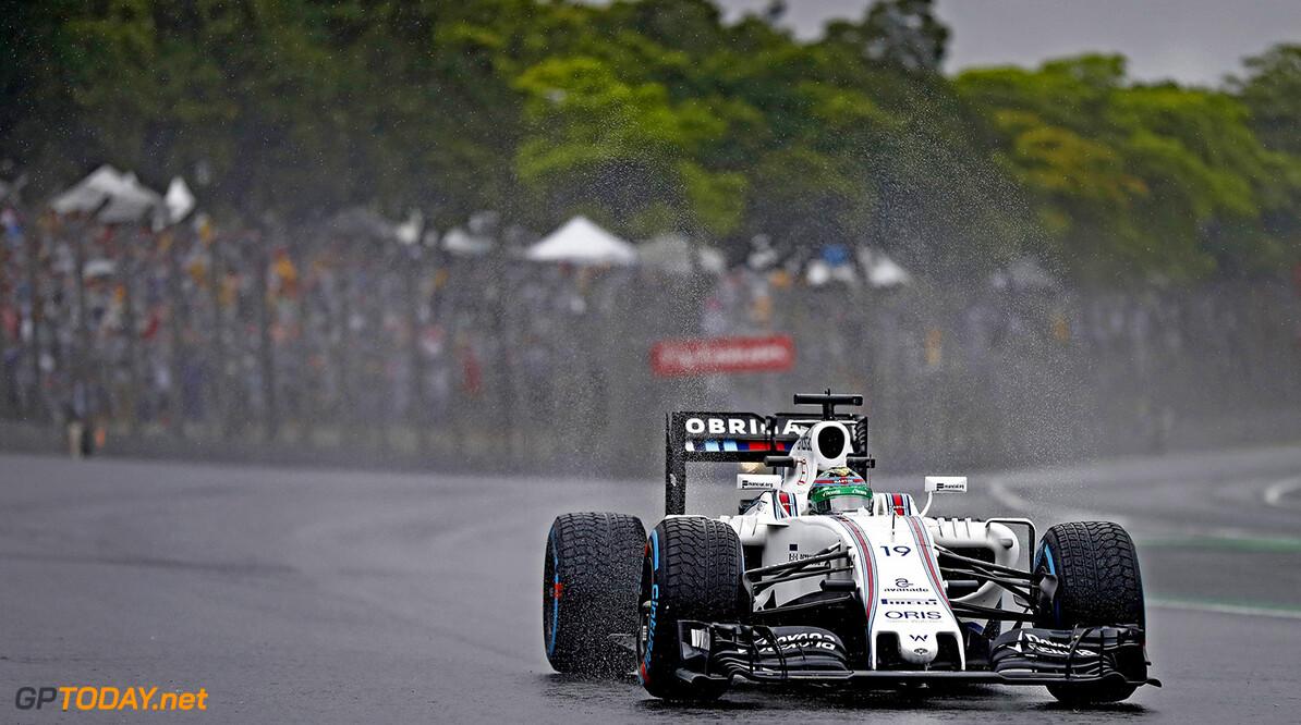 Interlagos, Sao Paulo, Brazil. Sunday 13 November 2016. Felipe Massa, Williams FW38 Mercedes. Photo: Glenn Dunbar/Williams ref: Digital Image _31I7134  Glenn Dunbar    Action
