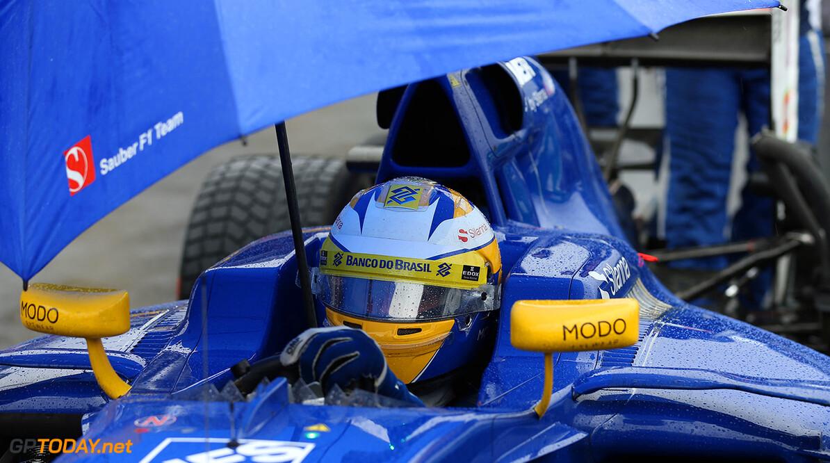 Brazilian GP Race 13/11/16 Marcus Ericsson (SWE), Sauber F1 Team.  Autodromo Jose Carlos Pace.  Brazilian GP Race 13/11/16 Jad Sherif                       Interlagos Brazil  F1 Formula 1 One 2016 grid Ericsson Sauber