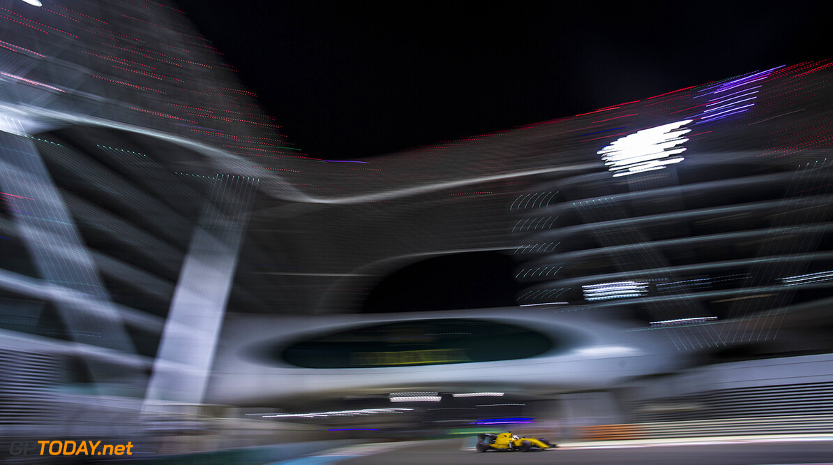 20 MAGNUSSEN Kevin (dnk) Renault RS.16 action during the 2016 Formula One World Championship, Abu Dhabi Grand Prix from November 25 to 27  in Yas Marina - Photo Francois Flamand / DPPI F1 - ABU DHABI GRAND PRIX 2016 Francois Flamand Yas Marina Abu Dhabi  Aed Car F1 Formula 1 Formula One Formule 1 Formule Un Grand Prix Monoplace Motorsport Moyen Orient November Novembre Race Uniplace United World Championship