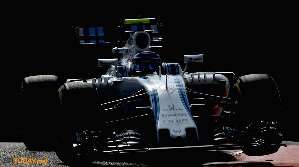 Yas Marina Circuit, Abu Dhabi, United Arab Emirates. Friday 25 November 2016. Valtteri Bottas, Williams FW38 Mercedes. Photo: Charles Coates/Williams ref: Digital Image AN7T1730      Action