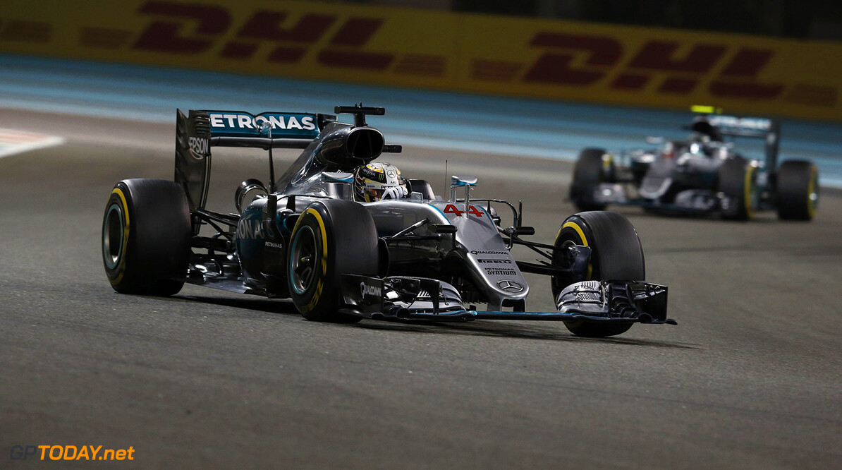 Mercedes draw a line under Lewis Hamilton Abu Dhabi driving