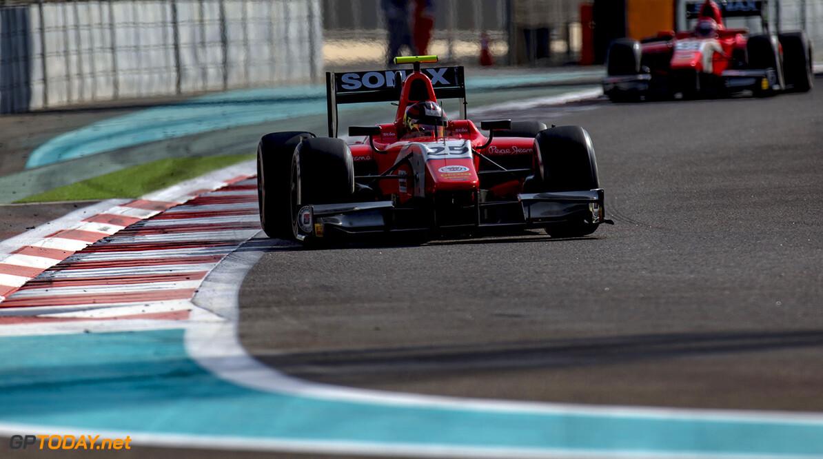 2016 GP2 Series Round 11. Yas Marina Circuit, Abu Dhabi, United Arab Emirates. Sunday 27 November 2016. Emil Bernstorff (GBR, Arden International)  Photo: Zak Mauger/GP2 Series Media Service. ref: Digital Image _X0W8787   Zak Mauger    Race Two 2 Sprint action
