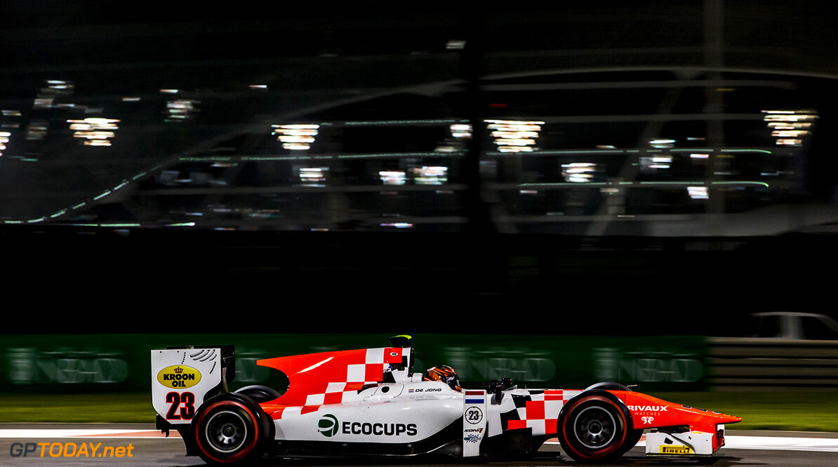 2016 GP2 Series Round 11. Yas Marina Circuit, Abu Dhabi, United Arab Emirates. Friday 25 November 2016. Daniel de Jong (NED, MP Motorsport)  Photo: Zak Mauger/GP2 Series Media Service. ref: Digital Image _L0U0144   Zak Mauger    Qualifying action