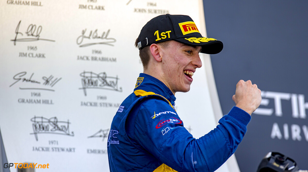 2016 GP3 Series Round 9. 