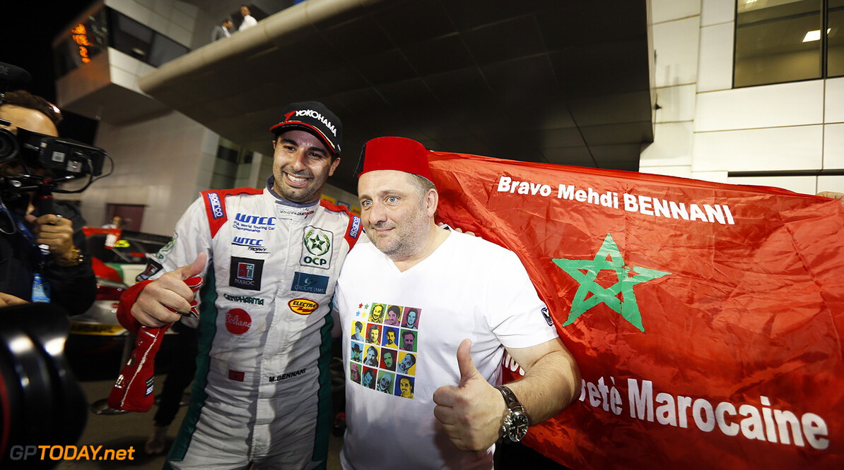 BENNANI Mehdi (mar) Citroen C Elysee team Sebastien Loeb racing portrait ambiance during the 2016 FIA WTCC World Touring Car Championship race at Losail  from November 23 to 25 Qatar - Photo Clement Marin / DPPI AUTO - WTCC LOSAIL 2016 Clement Marin Losail Qatar  Auto Championnat Du Monde Losail International Circuit Circuit Course Fia Motorsport November Novembre Quatar Tourisme Wtcc