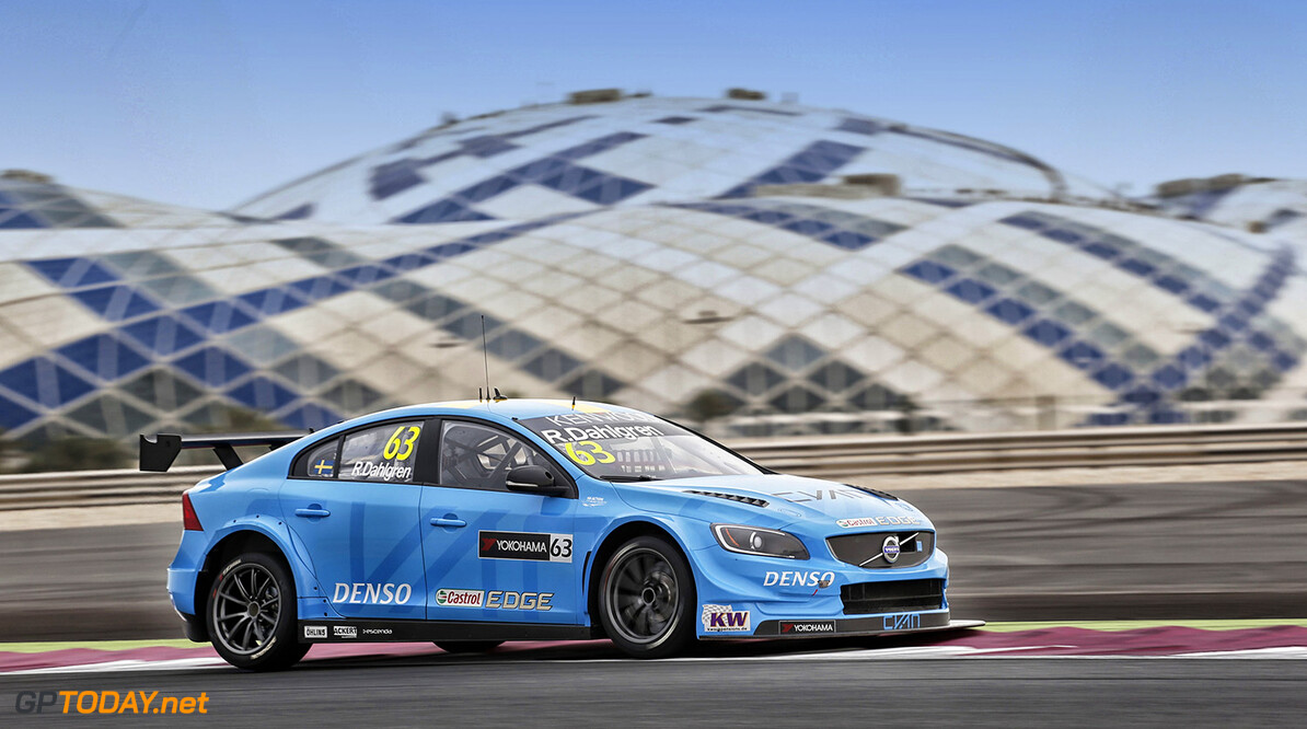 63 DAHLGREN Robert (swe) Volvo S60 team Polestar Cyan racing action during the 2016 FIA WTCC World Touring Car Championship race at Losail  from November 23 to 25 Qatar - Photo Clement Marin / DPPI AUTO - WTCC LOSAIL 2016 Clement Marin Losail Qatar  Auto Championnat Du Monde Losail International Circuit Circuit Course Fia Motorsport November Novembre Quatar Tourisme Wtcc