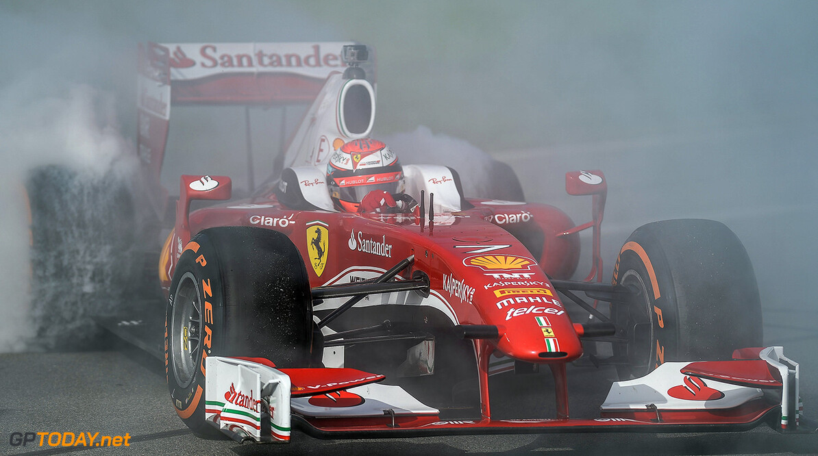 <b>Video: </b>Demo van Vettel en Raikkonen in Daytona
