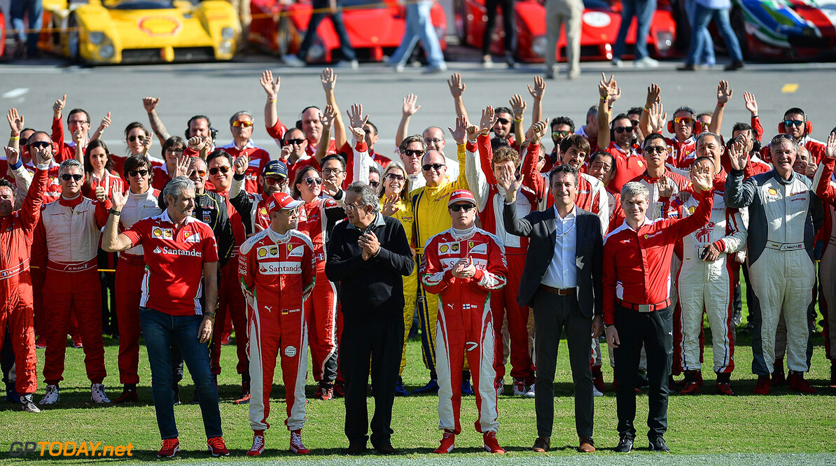 """Maurizio Arrivabene:  """"We have two drivers, they are under contract for next year"""""""
