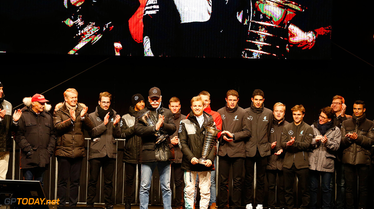 _20I9493 Mercedes-AMG, Motorsport, Sindelfingen, F1, Nico Rosberg ;  Mercedes-AMG, Motorsport, Sindelfingen, F1, Nico Rosberg;