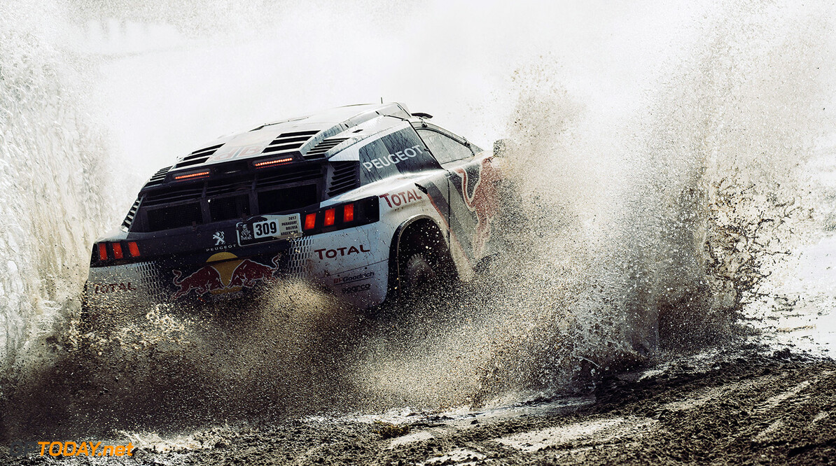 Sebastien Loeb (FRA) of Team Peugeot TOTALraces during stage 8 of Rally Dakar 2017 from Uyuni, Bolivia to Salta, Argentina on January 10, 2017. // Flavien Duhamel/Red Bull Content Pool // P-20170110-00839 // Usage for editorial use only // Please go to www.redbullcontentpool.com for further information. //  Sebastien Loeb Flavien Duhamel     P-20170110-00839