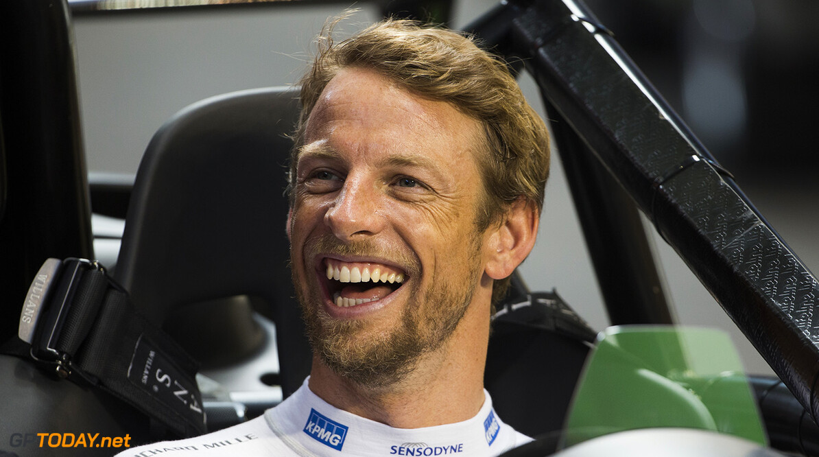 2017 Race of Champions, Marlins Park, Miami, USA Jenson Button (GBR) during the ROC Nations Cup on Sunday 22 January 2017 at Marlins Park, Miami, Florida, USA