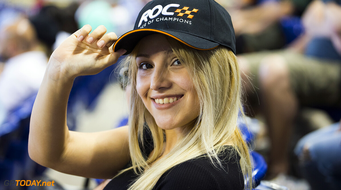 2017 Race of Champions, Marlins Park, Miami, USA Fans watch the action during the ROC Nations Cup on Sunday 22 January 2017 at Marlins Park, Miami, Florida, USA