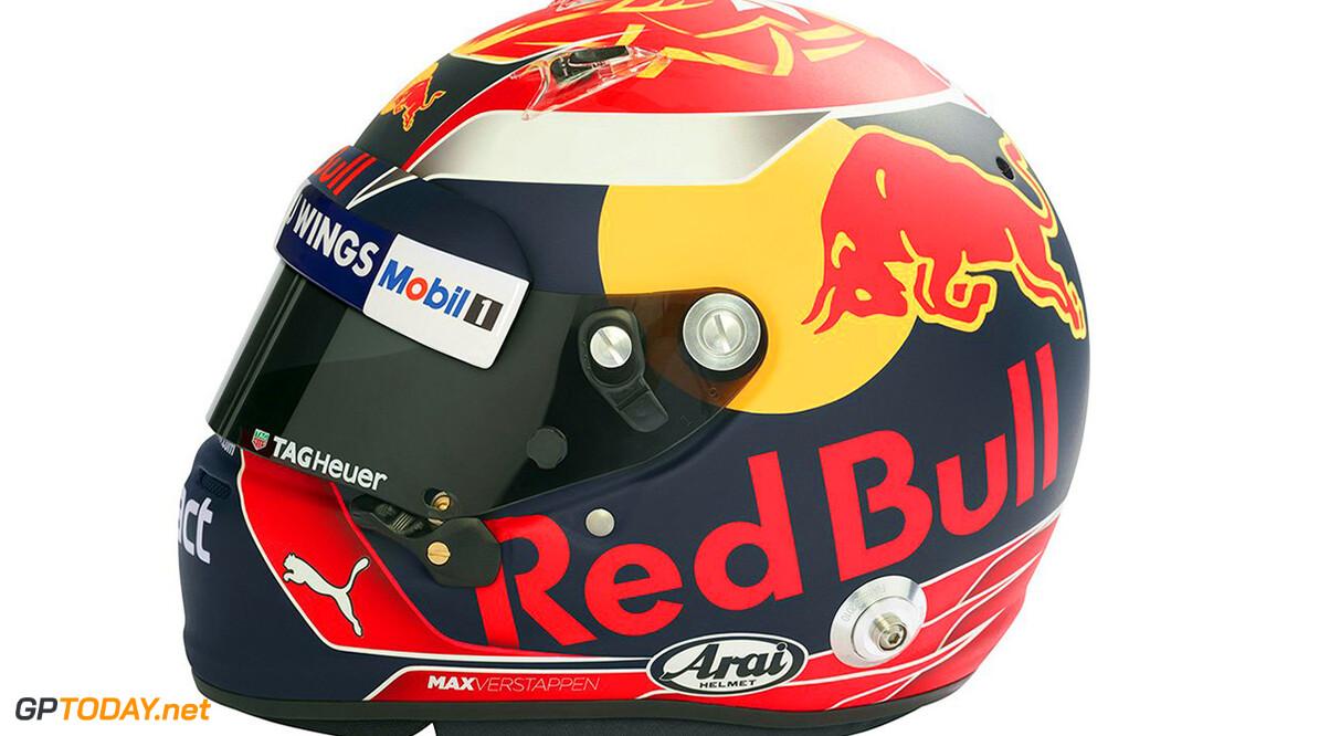 Max Verstappen onthult zijn helm voor 2017