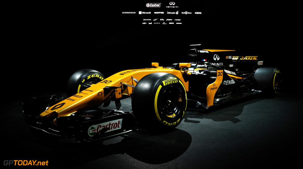 Renault presenteert de auto voor 2017, de RS17