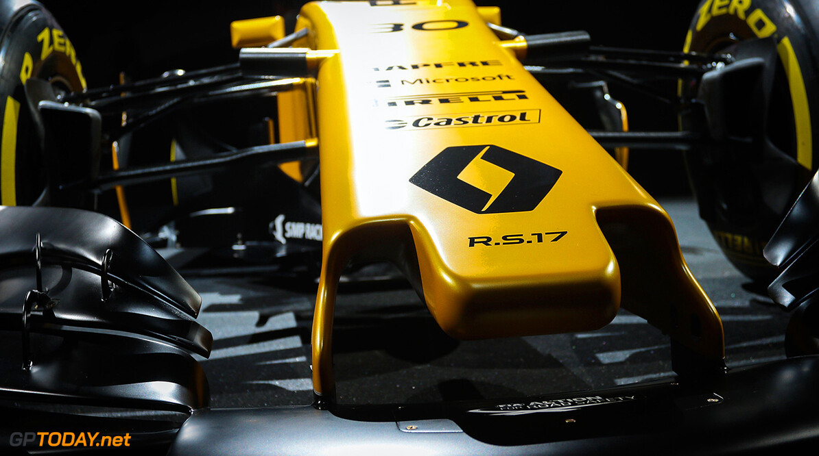 Formula One World Championship The Renault Sport F1 Team RS17.