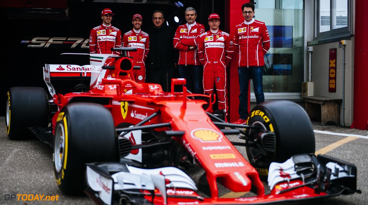 <b>Video:</b> Reacties Vettel en Raikkonen op de SF70-H