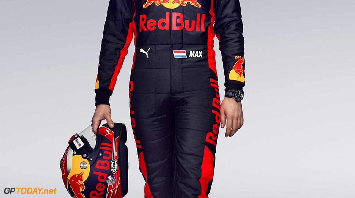 Max Verstappen poses for a portrait during a studio shoot in London, United Kingdom on February, 2017  // David Clerihew/Red Bull Content Pool // P-20170224-01768 // Usage for editorial use only // Please go to www.redbullcontentpool.com for further information. //  Max Verstappen  London United Kingdom  P-20170224-01768
