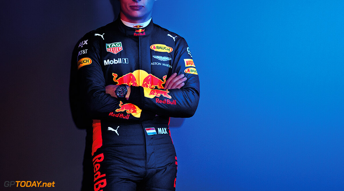 Max Verstappen poses for a portrait during a studio shoot in London, United Kingdom on February, 2017  // David Clerihew/Red Bull Content Pool // P-20170225-00120 // Usage for editorial use only // Please go to www.redbullcontentpool.com for further information. //  Max Verstappen  London United Kingdom  P-20170225-00120