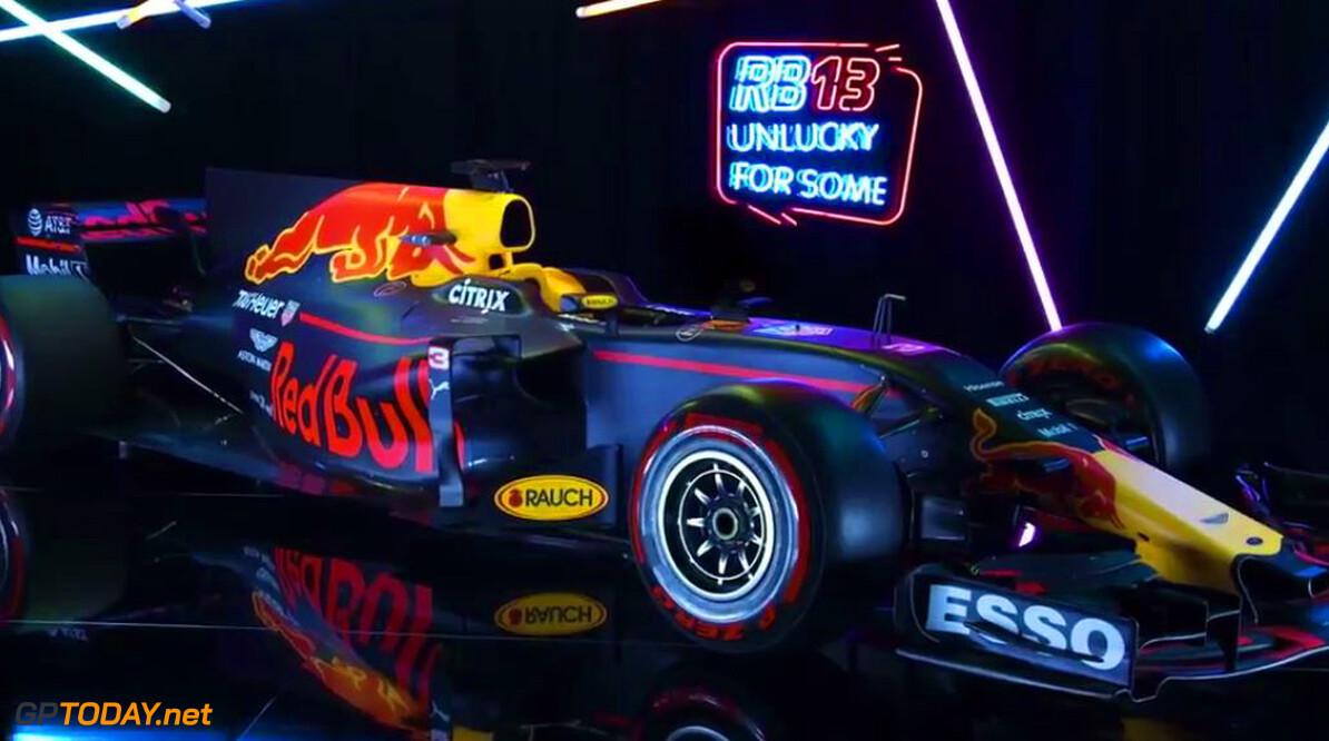 Red Bull Racing presenteert nieuwe auto, de RB13