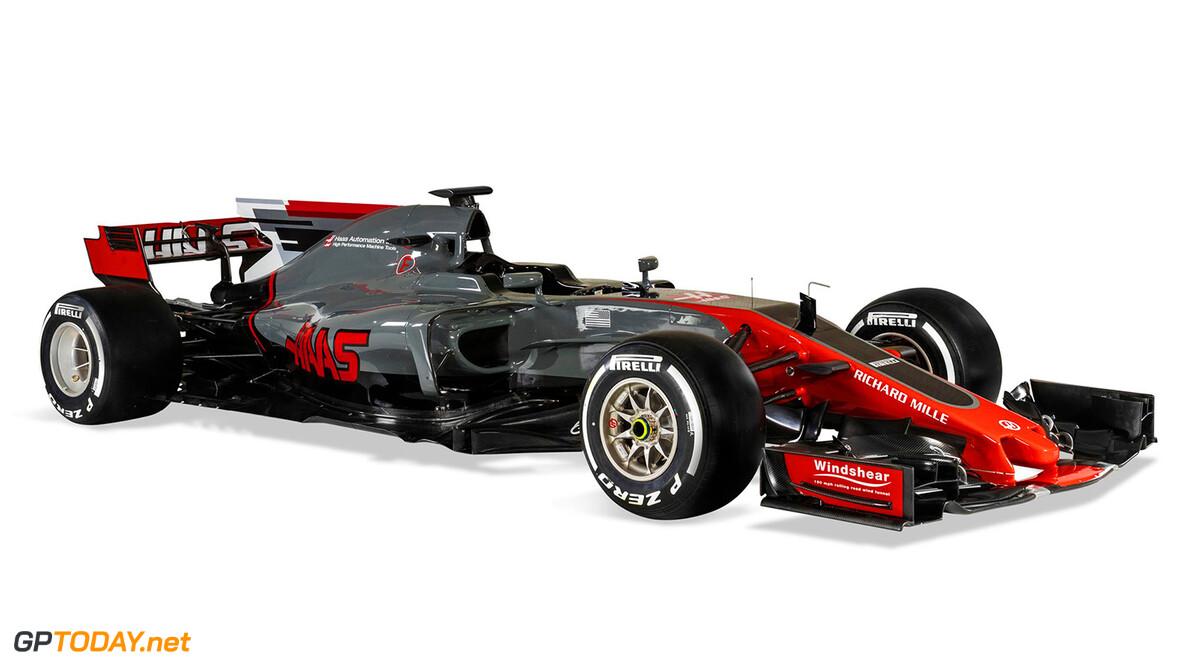 Haas F1 Team stelt de nieuwe VF-17 officieel voor