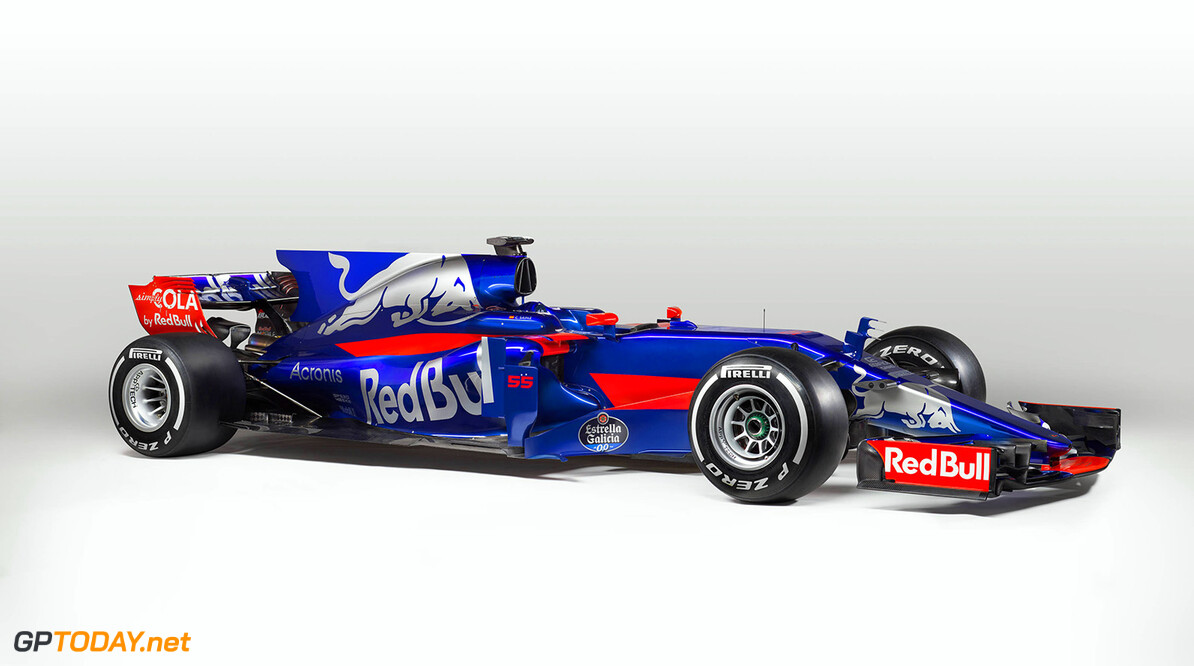 Scuderia Toro Rosso STR12 Car from Carlos Sainz is seen during a studio photo shooting in Faenza, Italy on February, 2017 // Guido De Bortoli / Red Bull Content Pool // P-20170226-00507 // Usage for editorial use only // Please go to www.redbullcontentpool.com for further information. //  Scuderia Toro Rosso STR12  Faenza Italy  P-20170226-00507