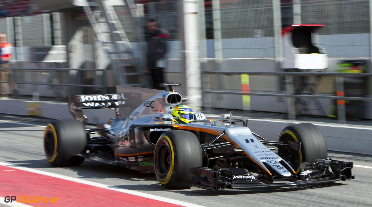 Force India kent weer problemen en veroorzaakt rode vlag