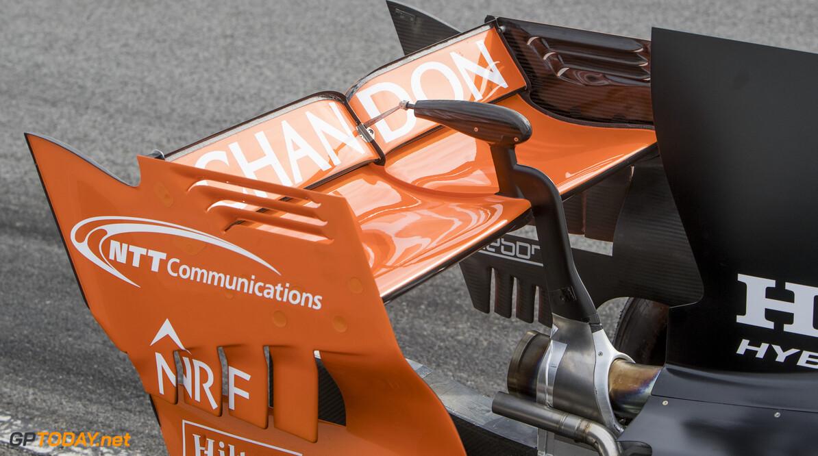 170228RF22220 Barcelona, Spain - 28 February 2017: McLaren Honda Formula 1 Team during Formula 1 Pre-Season Testing 2017 at Circuit de Barcelona-Catalunya, Barcelona, Spain. Formula 1 Pre-Season Testing 2017 Ronald Fleurbaaij Barcelona Spain  Barcelona Spain Formula 1 Pre-Season Testing 2017 Circuit de Barcelona-Catalunya Sports