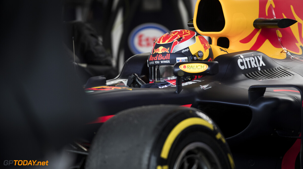170228RF22038 Barcelona, Spain - 28 February 2017: #33 Max Verstappen (NLD), Red Bull Racing, during Formula 1 Pre-Season Testing 2017 at Circuit de Barcelona-Catalunya, Barcelona, Spain. Formula 1 Pre-Season Testing 2017 Ronald Fleurbaaij Barcelona Spain  Barcelona Spain Formula 1 Pre-Season Testing 2017 Circuit de Barcelona-Catalunya Sports