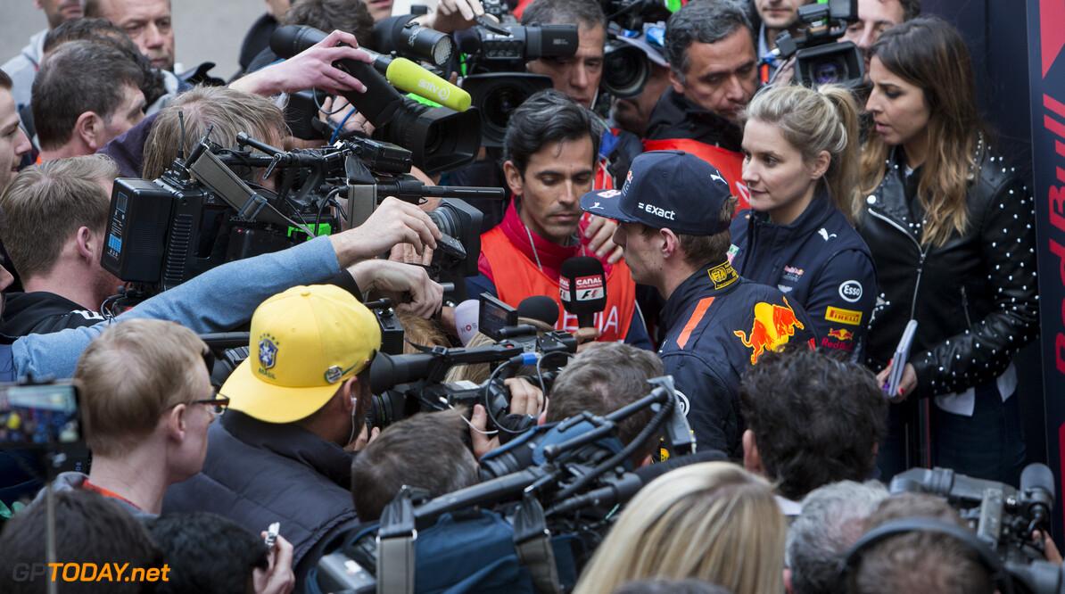 170228RF33549 Barcelona, Spain - 28 February 2017: #33 Max Verstappen (NLD), Red Bull Racing, during Formula 1 Pre-Season Testing 2017 at Circuit de Barcelona-Catalunya, Barcelona, Spain. Formula 1 Pre-Season Testing 2017 Ronald Fleurbaaij Barcelona Spain  Barcelona Spain Formula 1 Pre-Season Testing 2017 Circuit de Barcelona-Catalunya Sports