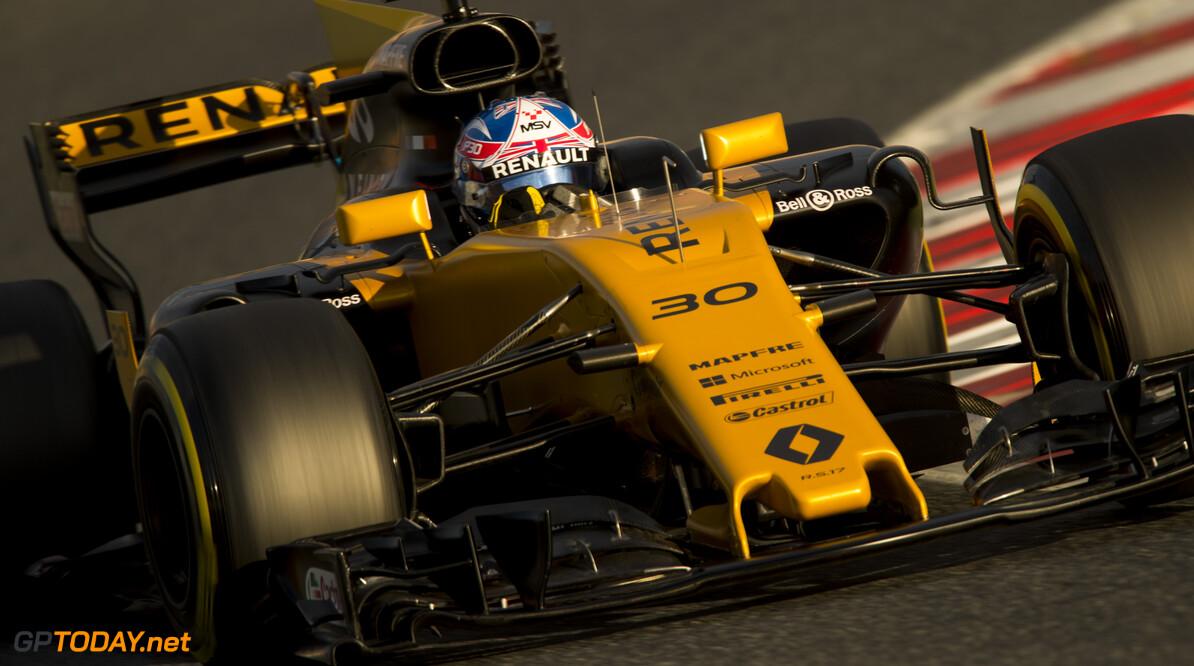Jolyon Palmer positief verrast over Renault RS17 na goede eerste testweek