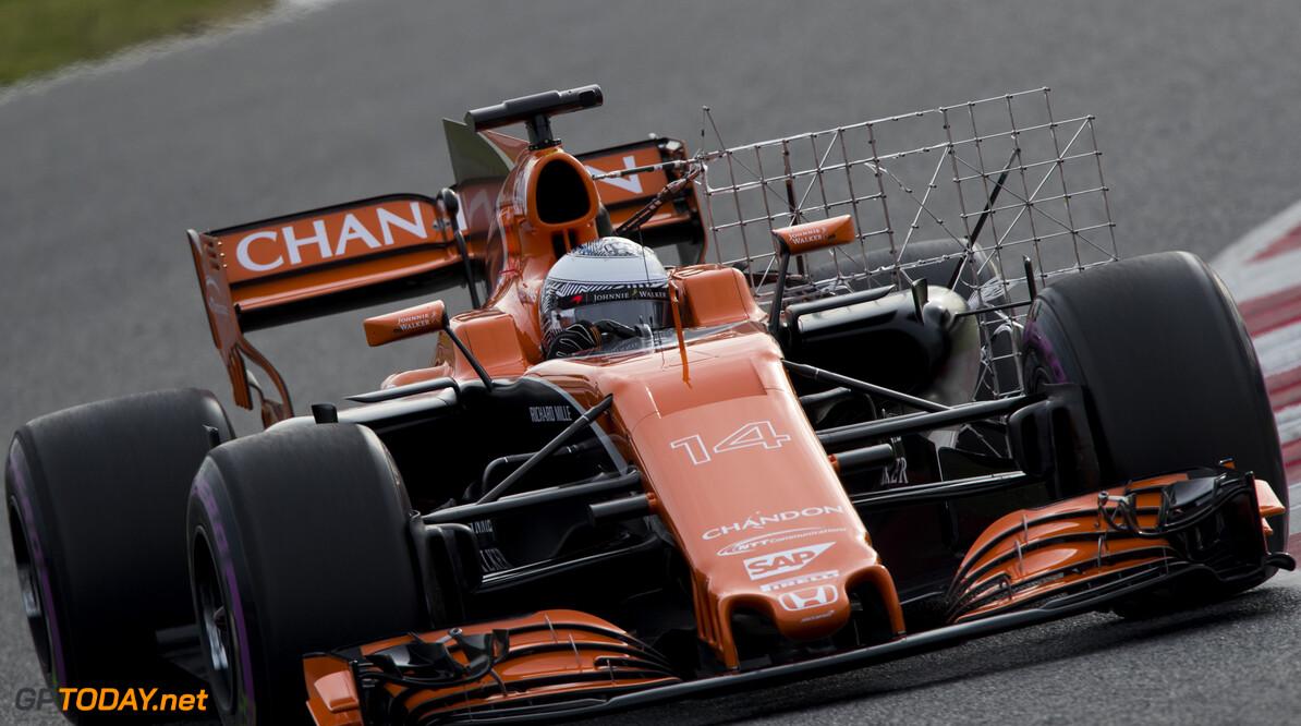 170301RF24527 Barcelona, Spain - 01 March 2017: #14 Fernando Alonso (ESP), McLaren Honda Formula 1 Team, during Formula 1 Pre-Season Testing 2017 at Circuit de Barcelona-Catalunya, Barcelona, Spain. Formula 1 Pre-Season Testing 2017 Ronald Fleurbaaij Barcelona Spain  Barcelona Spain Formula 1 Pre-Season Testing 2017 Circuit de Barcelona-Catalunya Sports