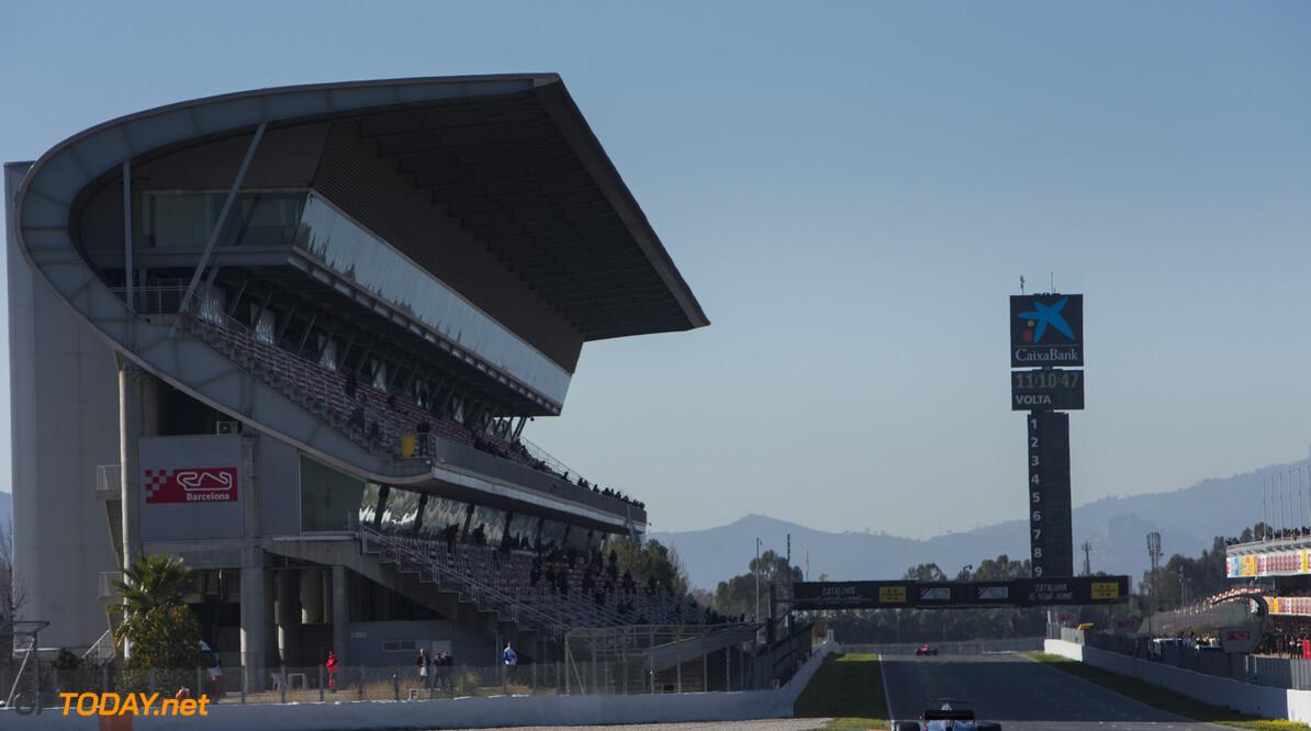 170301RF33714 Barcelona, Spain - 01 March 2017: #8 Romain Grosjean (FRA), Haas F1 Team, during Formula 1 Pre-Season Testing 2017 at Circuit de Barcelona-Catalunya, Barcelona, Spain. Formula 1 Pre-Season Testing 2017 Ronald Fleurbaaij Barcelona Spain  Barcelona Spain Formula 1 Pre-Season Testing 2017 Circuit de Barcelona-Catalunya Sports