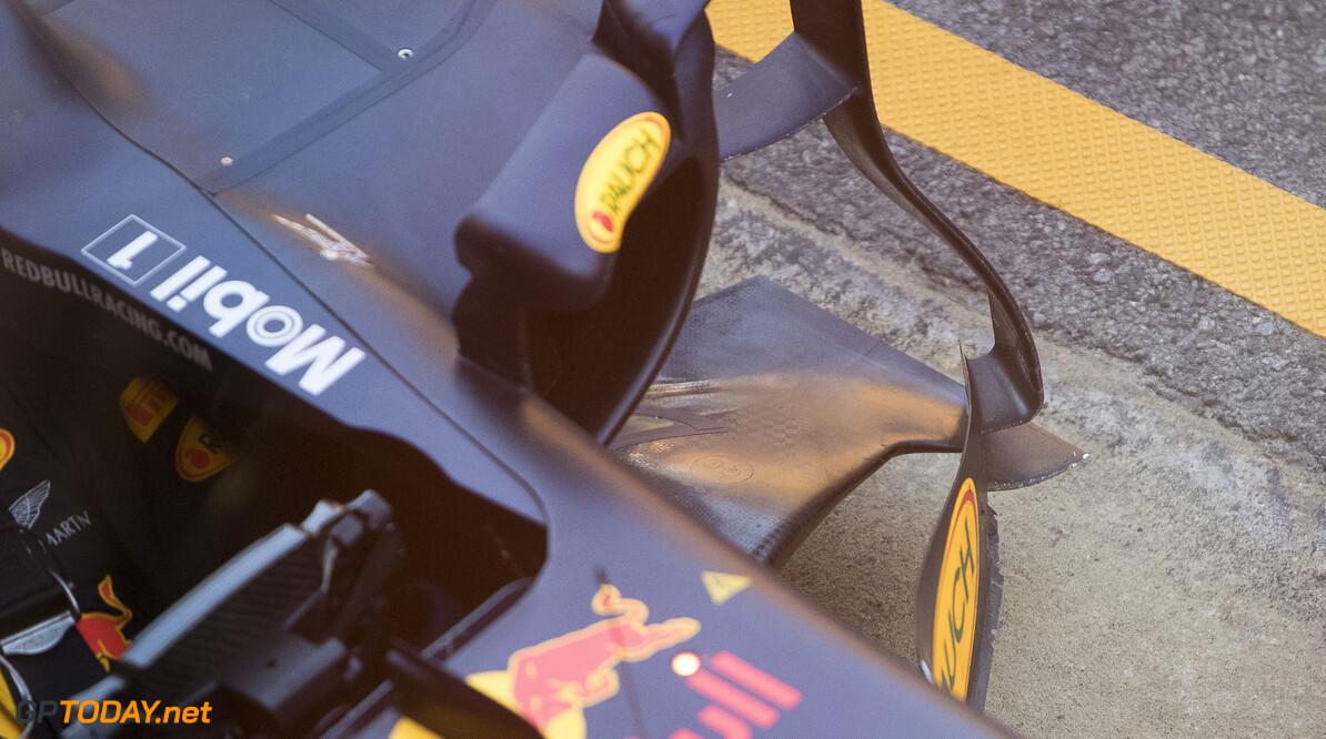 170302RF26488 Barcelona, Spain - 02 March 2017: Red Bull Racing during Formula 1 Pre-Season Testing 2017 at Circuit de Barcelona-Catalunya, Barcelona, Spain. Formula 1 Pre-Season Testing 2017 Ronald Fleurbaaij Barcelona Spain  Barcelona Spain Formula 1 Pre-Season Testing 2017 Circuit de Barcelona-Catalunya Sports
