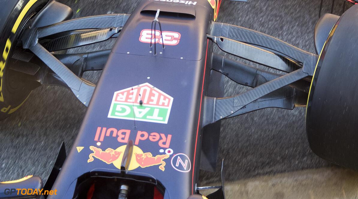 170302RF26458 Barcelona, Spain - 02 March 2017: Red Bull Racing during Formula 1 Pre-Season Testing 2017 at Circuit de Barcelona-Catalunya, Barcelona, Spain. Formula 1 Pre-Season Testing 2017 Ronald Fleurbaaij Barcelona Spain  Barcelona Spain Formula 1 Pre-Season Testing 2017 Circuit de Barcelona-Catalunya Sports