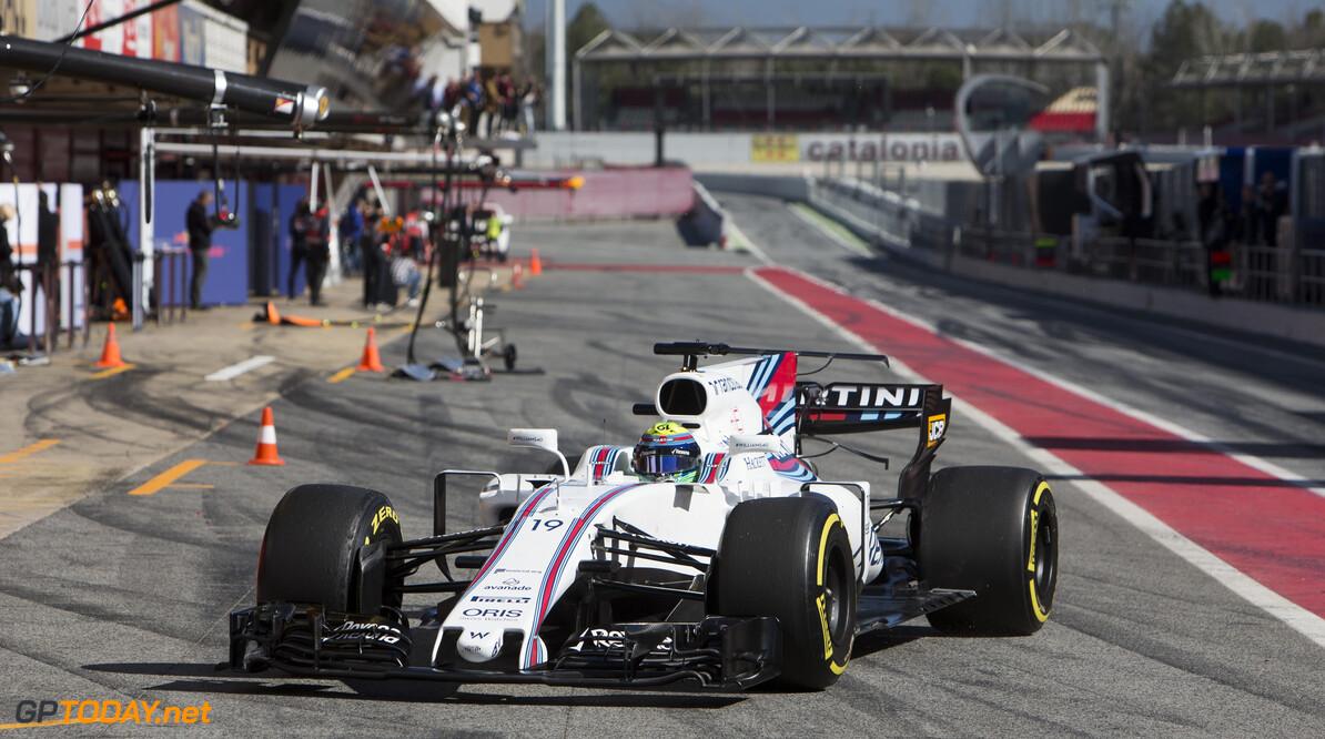 170307RF34224 Barcelona, Spain - 07 March 2017: #19 Felipe Massa (BRA), Williams Martini Racing, during Formula 1 Pre-Season Testing 2017 at Circuit de Barcelona-Catalunya, Barcelona, Spain. Formula 1 Pre-Season Testing 2017 Ronald Fleurbaaij Barcelona Spain  Barcelona Spain Formula 1 Pre-Season Testing 2017 Circuit de Barcelona-Catalunya Sports