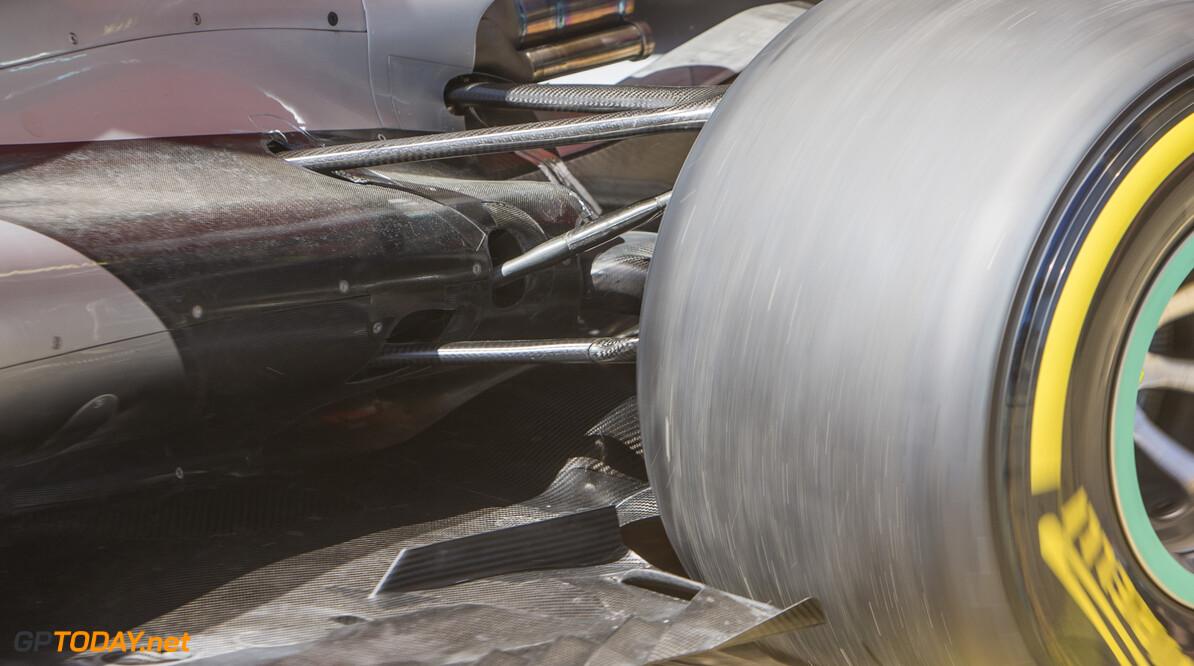170307RF34295 Barcelona, Spain - 07 March 2017: Mercedes AMG Petronas Motorsport during Formula 1 Pre-Season Testing 2017 at Circuit de Barcelona-Catalunya, Barcelona, Spain. Formula 1 Pre-Season Testing 2017 Ronald Fleurbaaij Barcelona Spain  Barcelona Spain Formula 1 Pre-Season Testing 2017 Circuit de Barcelona-Catalunya Sports