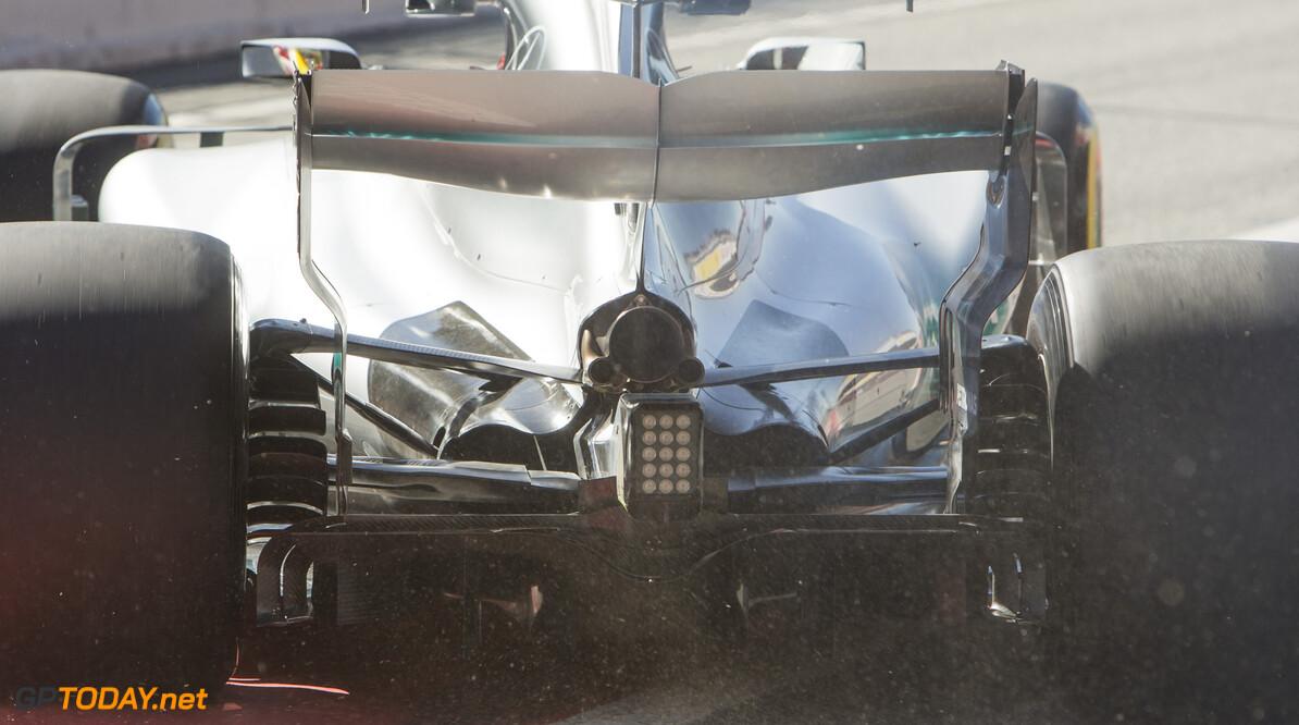 170307RF34300 Barcelona, Spain - 07 March 2017: Mercedes AMG Petronas Motorsport during Formula 1 Pre-Season Testing 2017 at Circuit de Barcelona-Catalunya, Barcelona, Spain. Formula 1 Pre-Season Testing 2017 Ronald Fleurbaaij Barcelona Spain  Barcelona Spain Formula 1 Pre-Season Testing 2017 Circuit de Barcelona-Catalunya Sports
