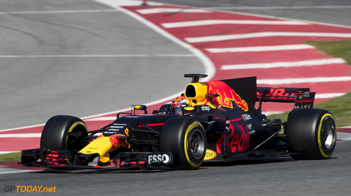 170310RF20155 Barcelona, Spain - 10 March 2017: #33 Max Verstappen (NLD), Red Bull Racing, during Formula 1 Pre-Season Testing 2017 at Circuit de Barcelona-Catalunya, Barcelona, Spain. Formula 1 Pre-Season Testing 2017 Ronald Fleurbaaij Barcelona Spain  Barcelona Spain Formula 1 Pre-Season Testing 2017 Circuit de Barcelona-Catalunya Sports
