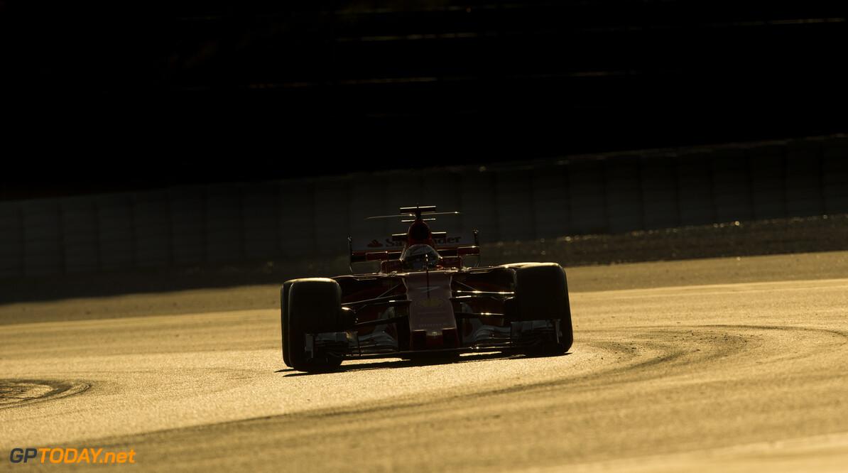 170310RF29744 Barcelona, Spain - 10 March 2017: #7 Kimi Raikkonen (FIN), Scuderia Ferrari, during Formula 1 Pre-Season Testing 2017 at Circuit de Barcelona-Catalunya, Barcelona, Spain. Formula 1 Pre-Season Testing 2017 Ronald Fleurbaaij Barcelona Spain  Barcelona Spain Formula 1 Pre-Season Testing 2017 Circuit de Barcelona-Catalunya Sports