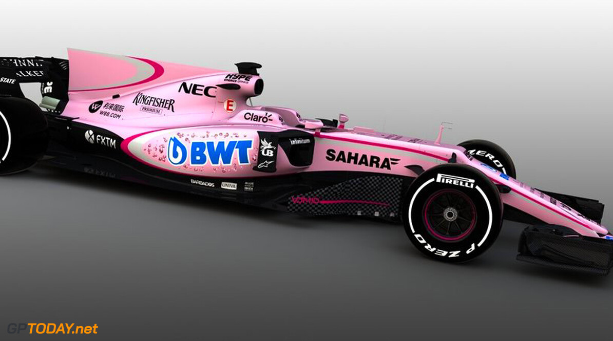'BWT paying up to 20 million for pink Force India'