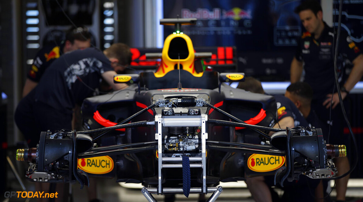 'Red Bull RB13 zonder haaienvin in Melbourne'