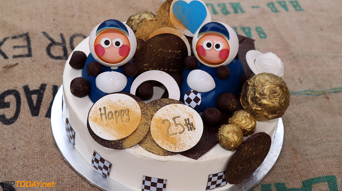 Australian GP Wednesday 22/03/17 Sauber F1 Team 25 years anniversary cake atmosphere. Albert Park Circuit.  Australian GP Wednesday 22/03/17 Jad Sherif                       Melbourne Australia  F1 Formula 1 One 2017 Sauber atmosphere