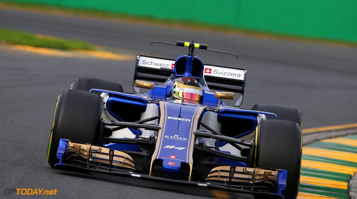 Australian GP Friday 24/03/17 Pascal Wehrlein (D), Sauber F1 Team. Albert Park Circuit.  Australian GP Friday 24/03/17 Jean-Francois Galeron Melbourne Australia  F1 Formula One 2017 Action Wehrlein Sauber