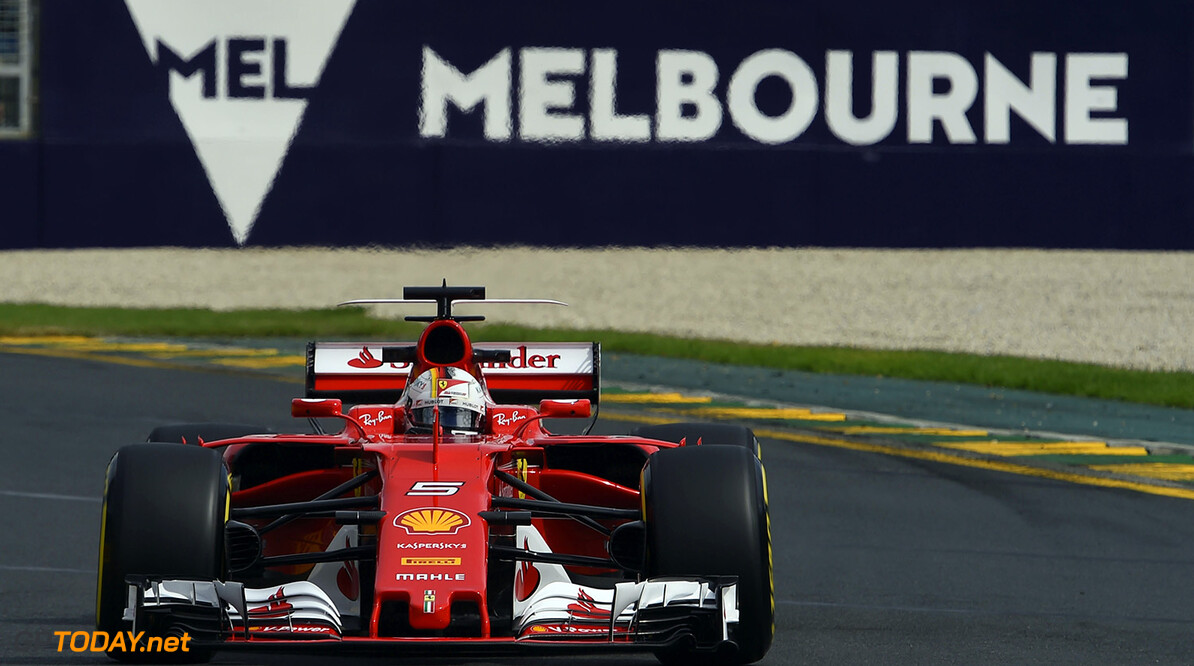 Sebastian Vettel wins the Australian GP