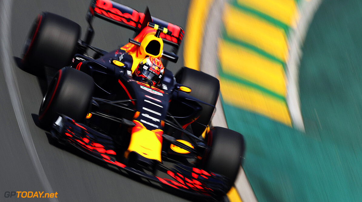 MELBOURNE, AUSTRALIA - MARCH 24: Max Verstappen of the Netherlands driving the (33) Red Bull Racing Red Bull-TAG Heuer RB13 TAG Heuer on track during practice for the Australian Formula One Grand Prix at Albert Park on March 24, 2017 in Melbourne, Australia.  (Photo by Mark Thompson/Getty Images) // Getty Images / Red Bull Content Pool  // P-20170324-00221 // Usage for editorial use only // Please go to www.redbullcontentpool.com for further information. //  Australian F1 Grand Prix - Practice Mark Thompson Melbourne Australia  P-20170324-00221